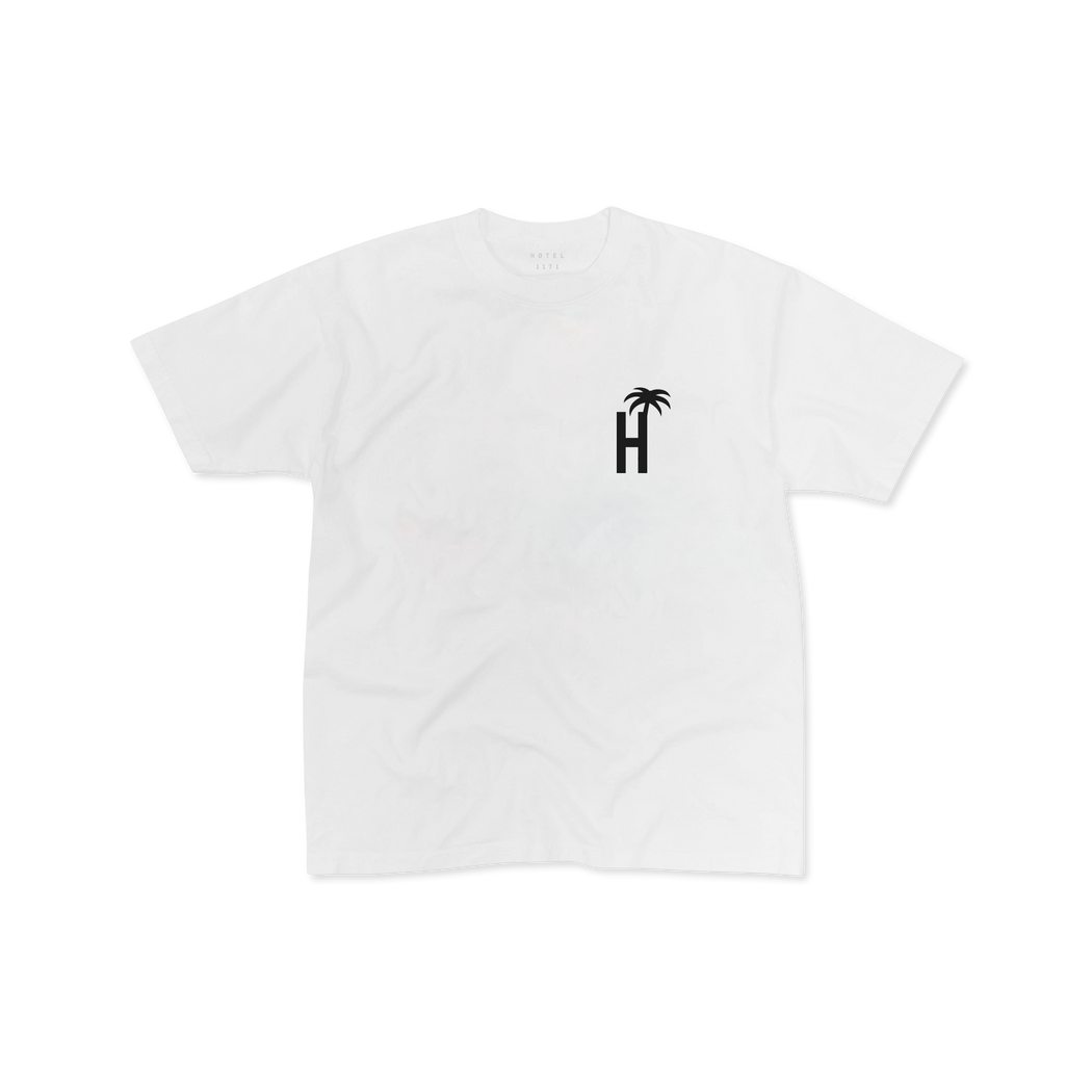 HOTEL CA T-SHIRT - WHITE