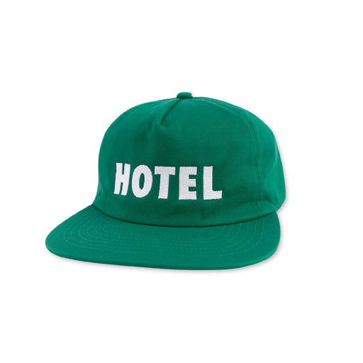 HOTEL CLASSIC STRAPBACK HAT - KELLY GREEN
