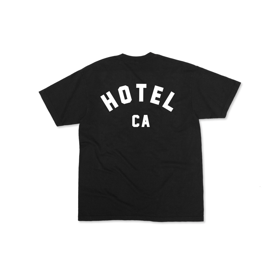 HOTEL CA T-SHIRT - BLACK