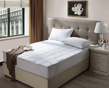 Ultimate Waterproof Mattress Pad 200 Thread Count Cotton Rich Fabric. Prices Start At: