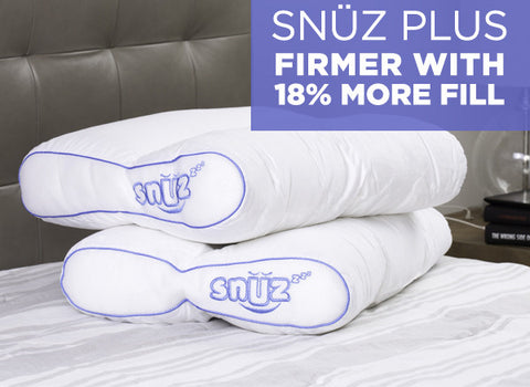 SNÜZ PLUS Pillow Twin Pack <br> FREE Shipping!