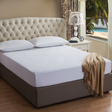 Ultimate Waterproof Terry Mattress Protector with Nanotex Stain Repel and Release. Starting At: