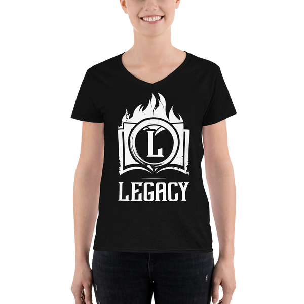 Legacy Books V-neck shirt