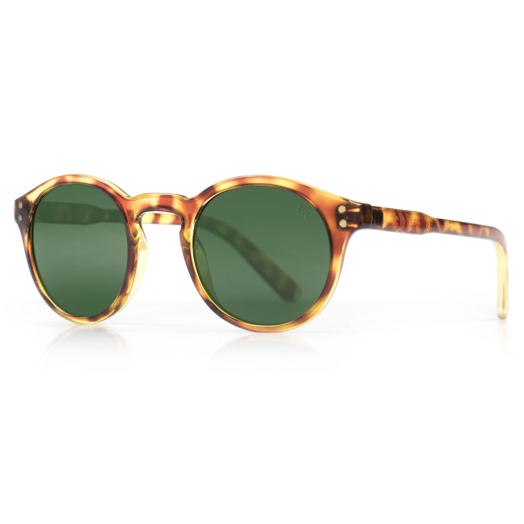 Round hipster sunglasses by Flare Eyewear