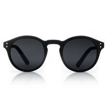 simple black sunglasses with no logos