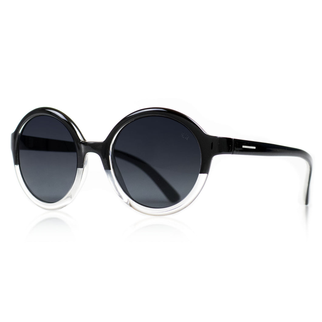 women round sunglasses maximum UV protection