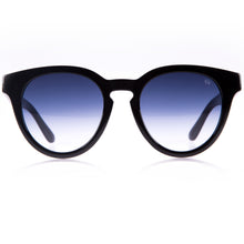 cat black sunglasses with gradient lenses handcrafted in Italy