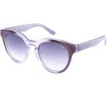 smokey violet sunglasses with gradient lenses true vintage style
