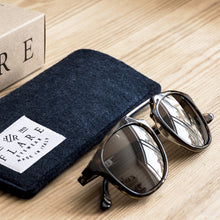 Flare Eyewear wool case hand made in Italy