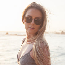 Emily Davis in our Flare Eyewear