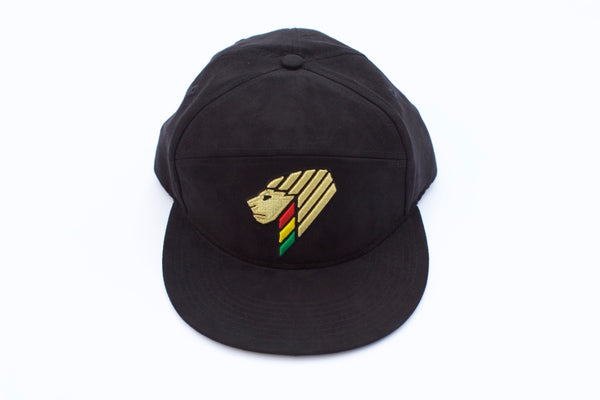 Gold Lion Baseball Cap