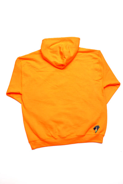 Lion Hoodie - Military Orange