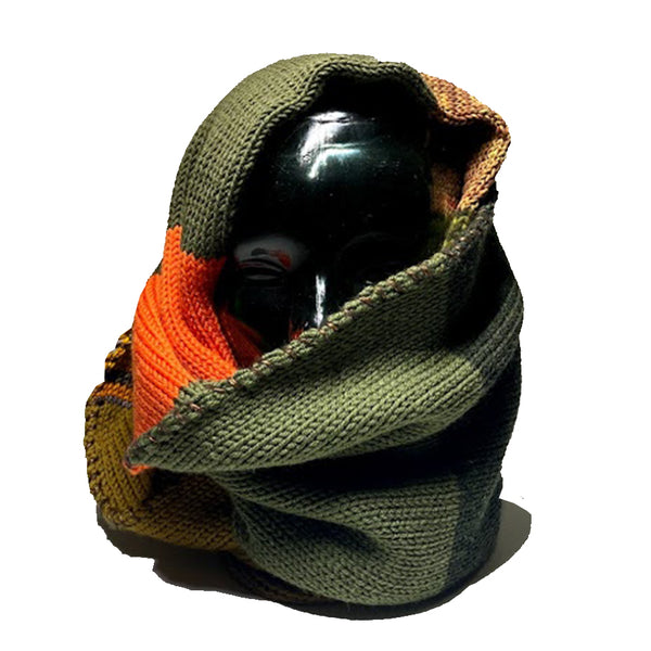 EARTHTONE MULTI COLOR INFINITY SCARF