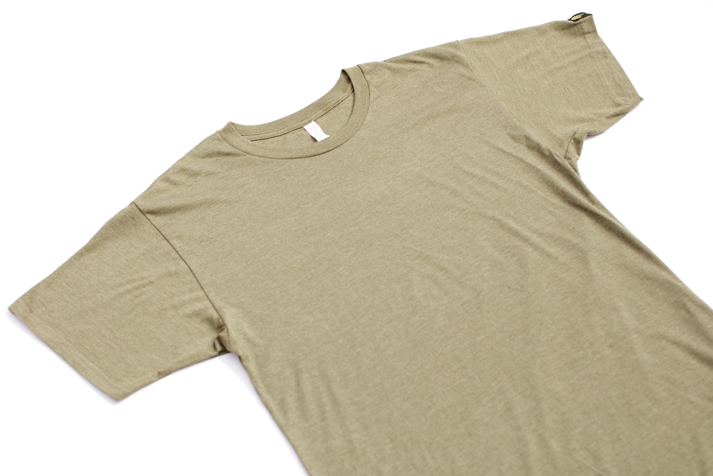 Military Green Lion Long Tee