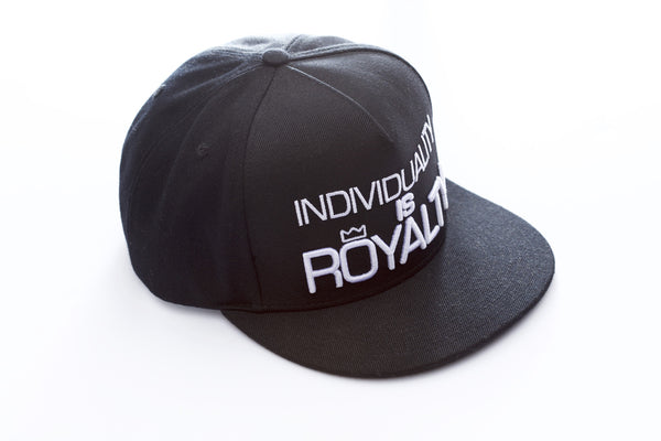 INDIVIDUALITY IS ROYALTY Baseball Cap