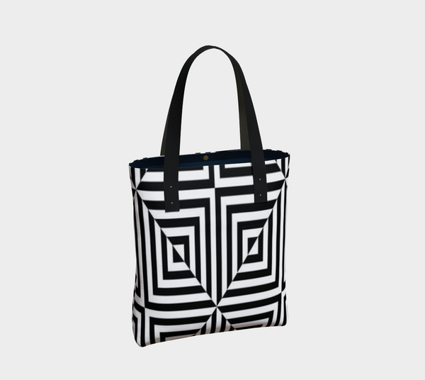 Doodle Optical Square Bag - Artified Apparel