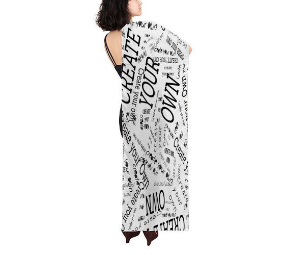 "Create Your Own 16""x72"" Scarf - Artified Apparel"