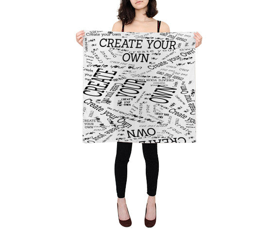 "Create Your Own 26""x26"" Scarf - Artified Apparel"