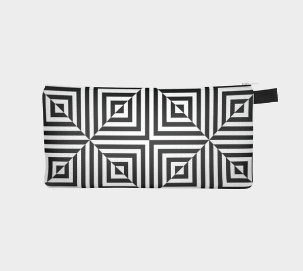 Doodle Optical Squares Art Case - Artified Apparel