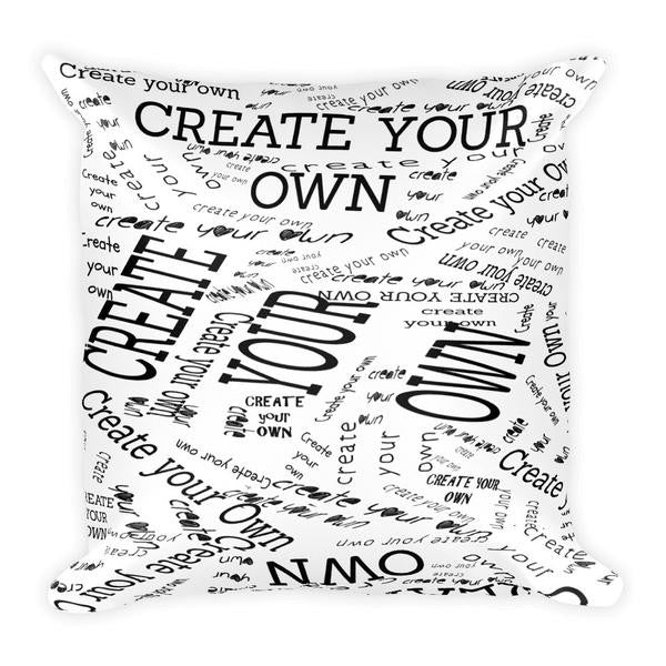 Create Your Own 18x18 Pillow