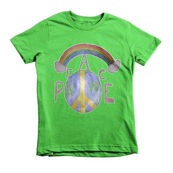 PEACE Kids T-shirt 2-6 years - Artified Apparel