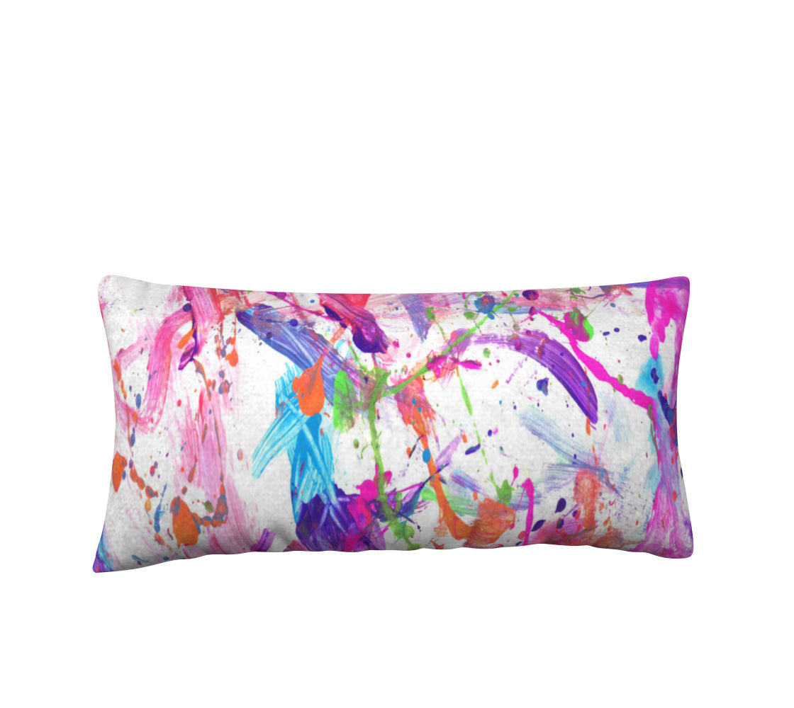 "Hendrix Pillow 24x12"" - Artified Apparel"