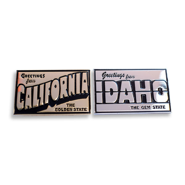 Greetings From California Pin