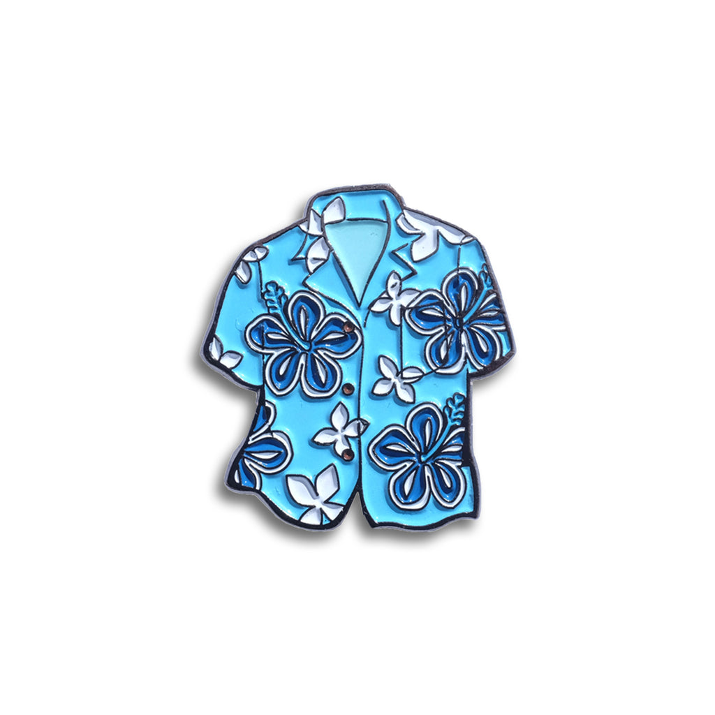 Hawaiian Shirt Pin