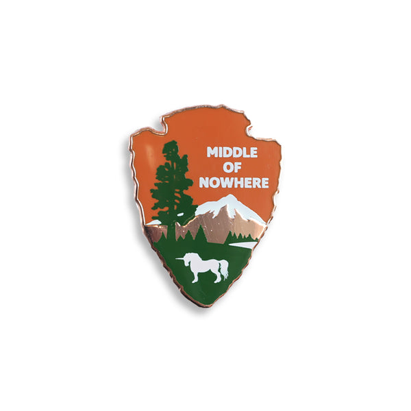 Middle of Nowhere Pin