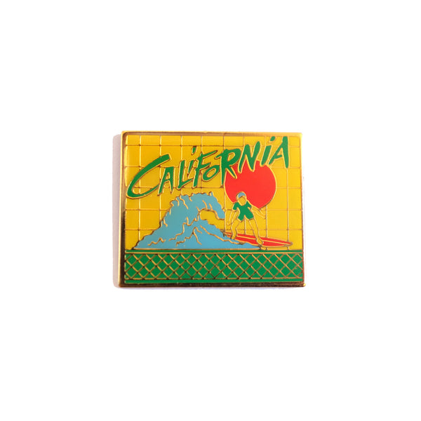 California Vintage Pin