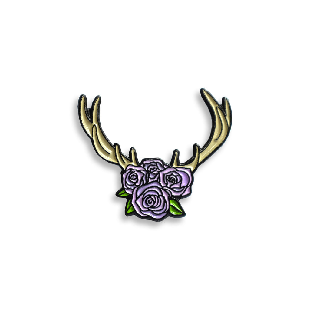 Flower Crown Pin