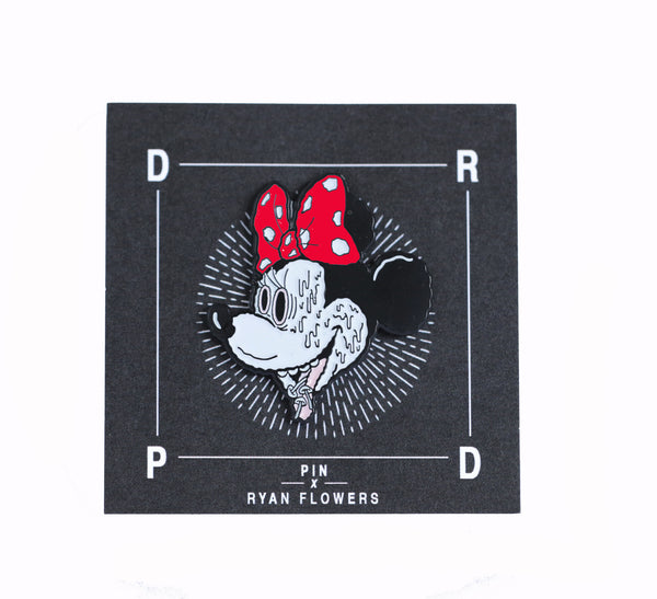 Trippy Minnie Pin