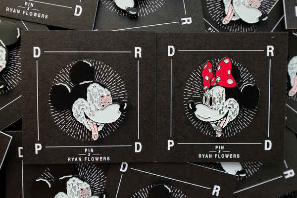 Trippy Mickey Pin