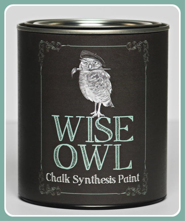Wise Owl Chalk Synthesis Paint- Quart (32 oz)