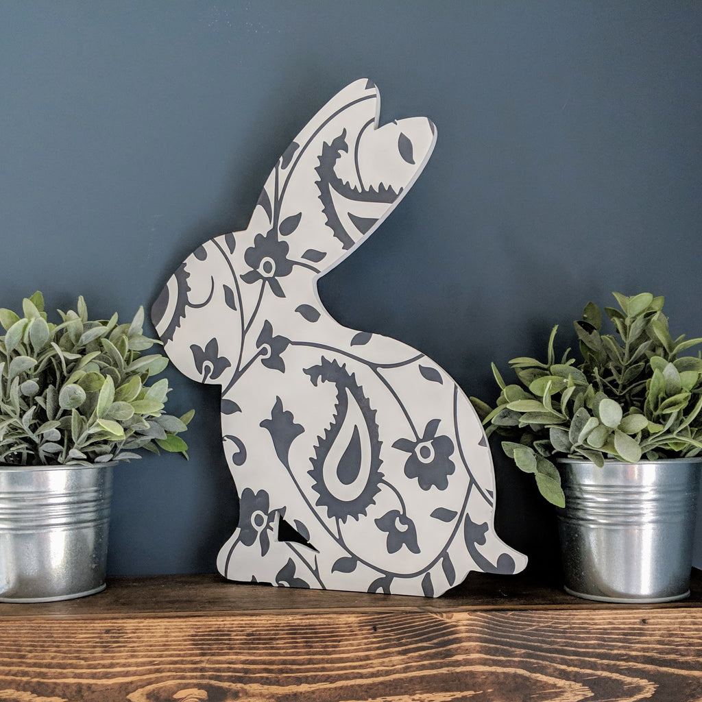 Patterned Bunny Paint Kit!