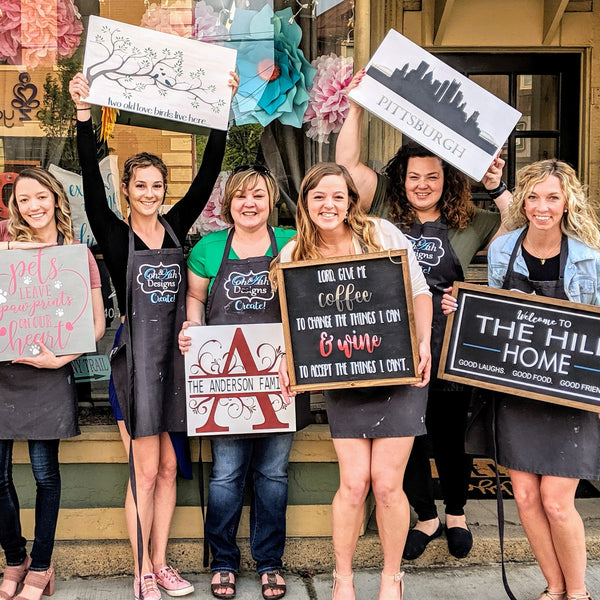 Bachelorette Paint Party! Saturday, August. 29th @ 12pm (Private Workshop)