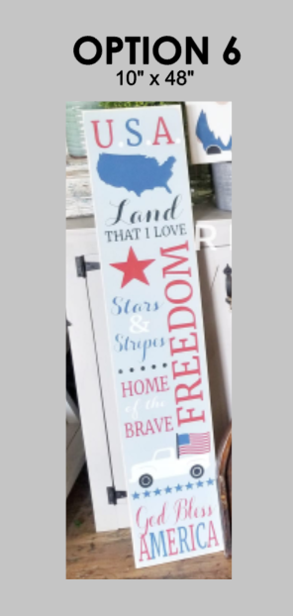 4th of July Porch Sign Kit