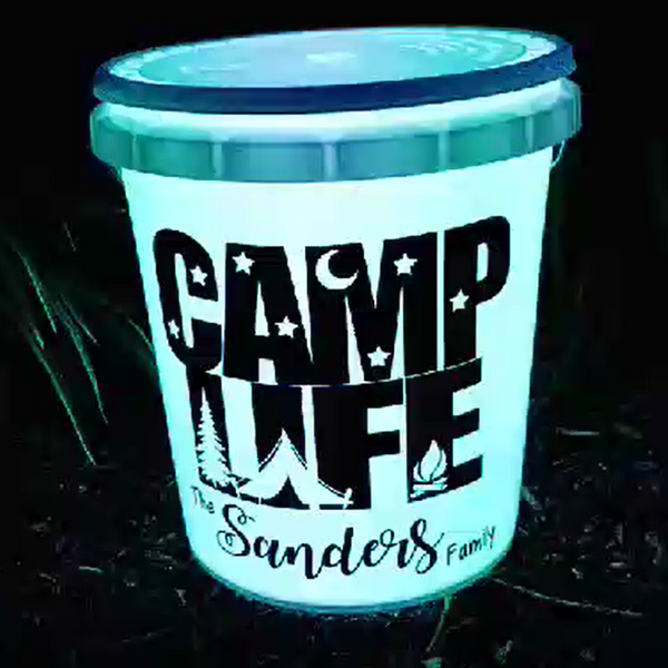 Light Up Bucket (personalized)