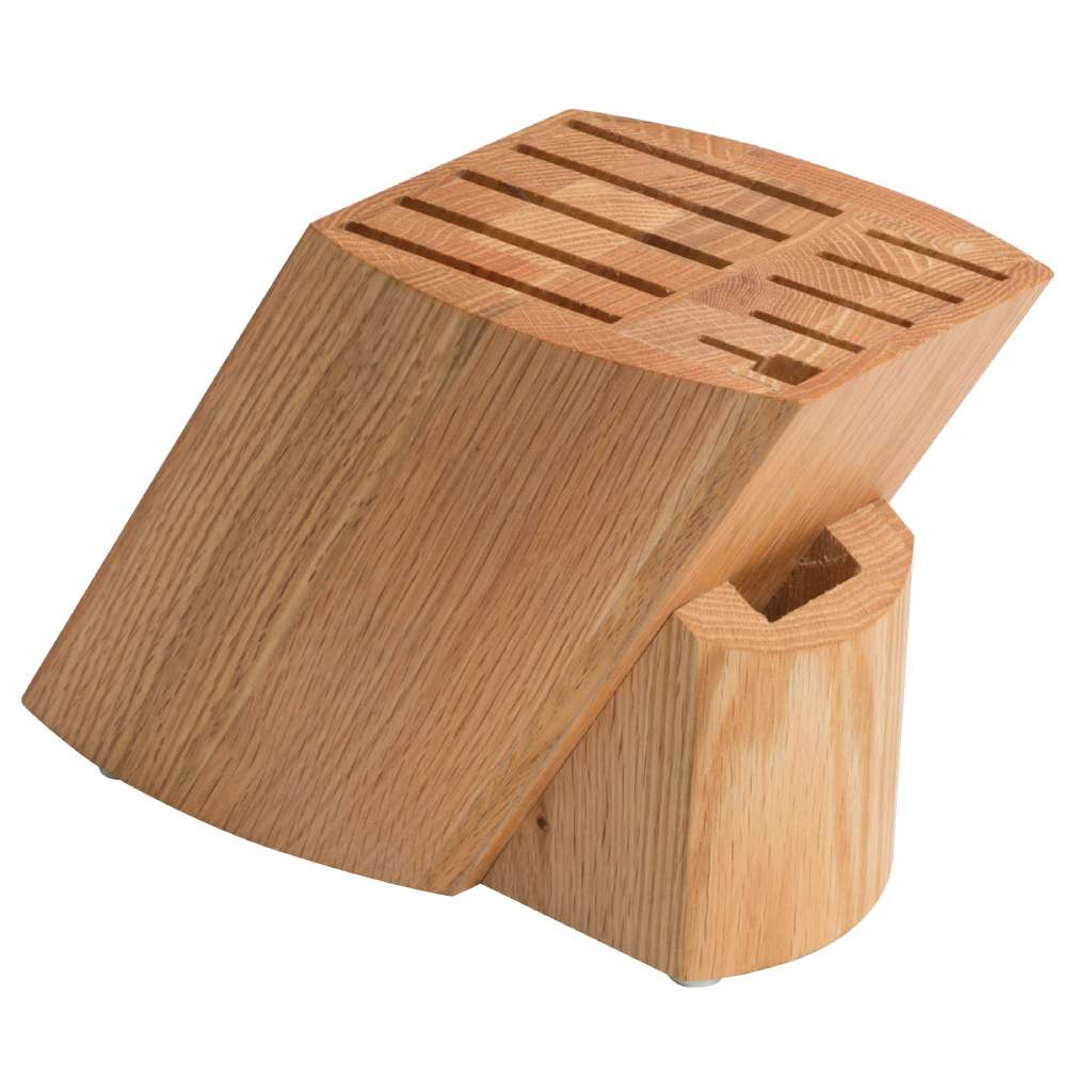 Oak Knife Block, 11-Slot
