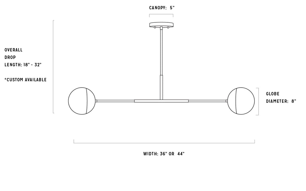 Cannon Pendant Measurements