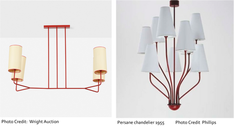 Jean Royere Lamps