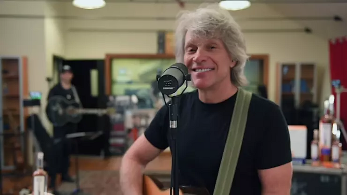 Jon Bon Jovi Covers The Beatles, Black Eyed Peas & More For COVID-19 Relief