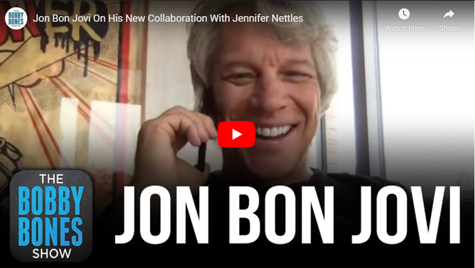Jon Bon Jovi On His New Collaboration With Jennifer Nettles
