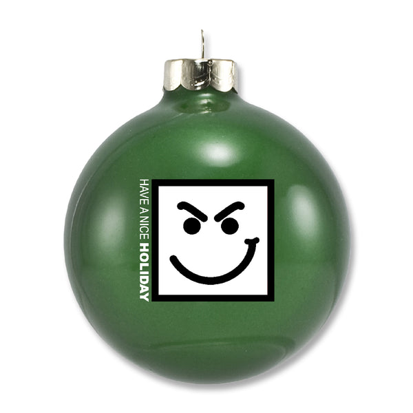 Nice Holiday Ornament - Green