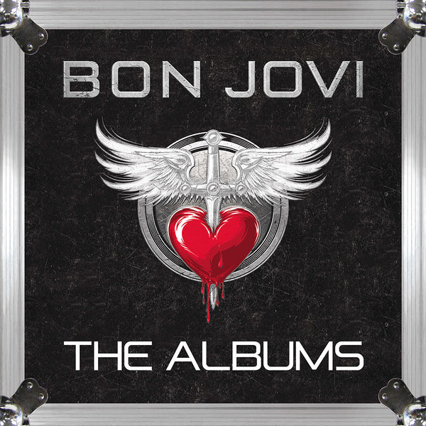 Official Bon Jovi The Albums Vinyl Box Set