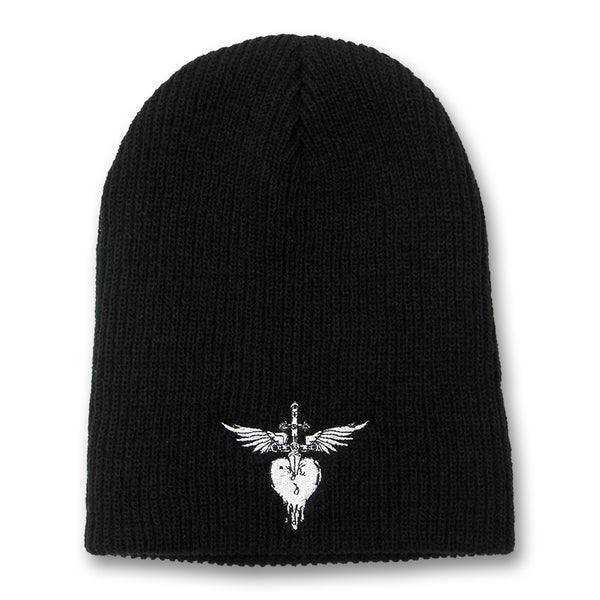 Officially Licensed Bon Jovi H&D Embroidered Beanie