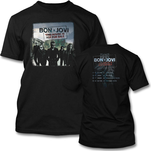 Official Bon Jovi 2016 Tour T-shirt