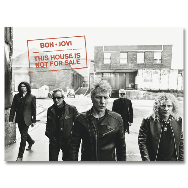 Official Bon Jovi Walk Poster