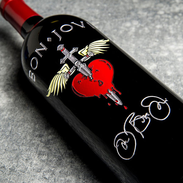 Classic Heart & Dagger - Signature Edition Etched Wine
