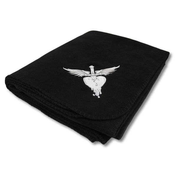 Official Bon Jovi Embroidered H&D Fleece Blanket